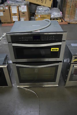 "Whirlpool WOC95EC0AS 30"" Stainless Microwave Wall Oven NOB #32072 HRT"