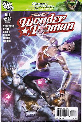 WONDER WOMAN 611 - VARIANT COVER (MODERN AGE 2011) - 9.4