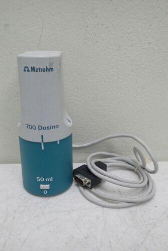 Metrohm 700 Dosino Reagent Dosing Drive Unit 50 ml