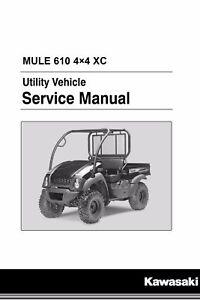 kawasaki mule manual ebay rh ebay com 1991 Kawasaki Mule 1999 Kawasaki Mule