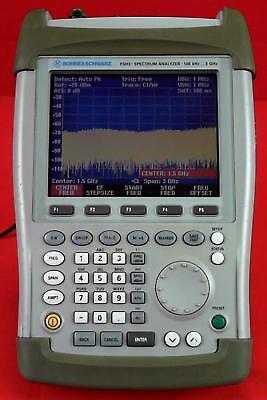 Rohde Schwarz Fsh3 Mobile Spectrum Analyzer 1145.5850.03
