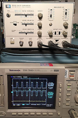HP 8013B 50MHz Dual Output Pulse Generator - Tested