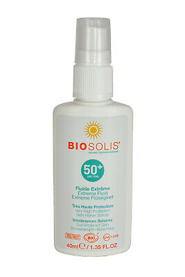 BIOSOLIS Sun Extreme Fluid SPF 50+ Gesicht empfindliche Haut 40 ml; K1 436