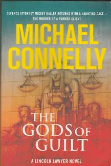 THE GODS OF GUILT Michael Connelly ~ Large 1st Ed SC 2013