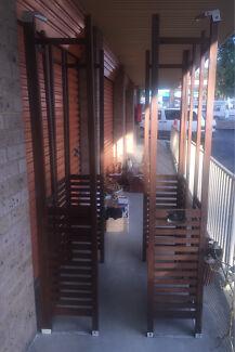 Timber Free Standing Slat Panel Gazebo Frame