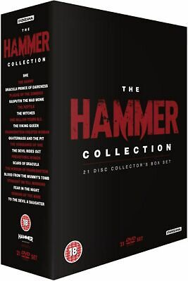 ULTIMATE HAMMER COLLECTION DVD Christopher Lee Terence Fisher UK Release NEW - Ultimate Hammer