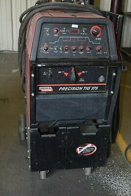 Lincoln Precision Tig 375 Tig Welder Ready Pak Includes Coolant Pump System