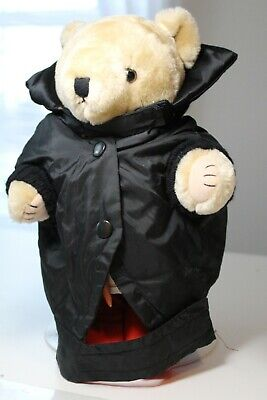 Dog Costume Dracula or 50s Dude Black Coat Small by DWF