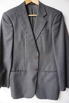 Armani Collezioni Blazer (36S) Blazer Gray Knit Wool