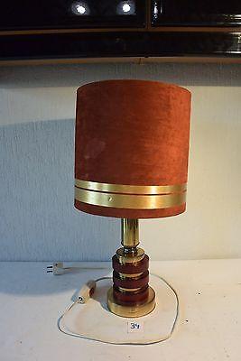 C34 Ancienne lampe de bureau Art deco