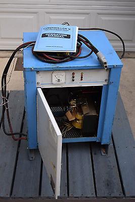 Chloride Battery Charger 24 Volt V Forklift 115v 1ph Manual Pallet Jack Works