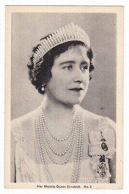 1940 HER MAJESTY QUEEN ELIZABETH VINTAGE POSTCARD LONDON ENGLAND UNITED KINGDOM