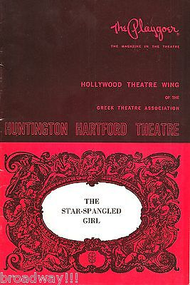 "Anthony Perkins ""STAR-SPANGLED GIRL"" Neil Simon 1968 Hollywood Playbill"