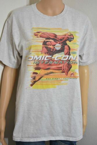 2015 SDCC 75th Anniversary The Flash T-Shirt Size XL Art By Andy Kubert New