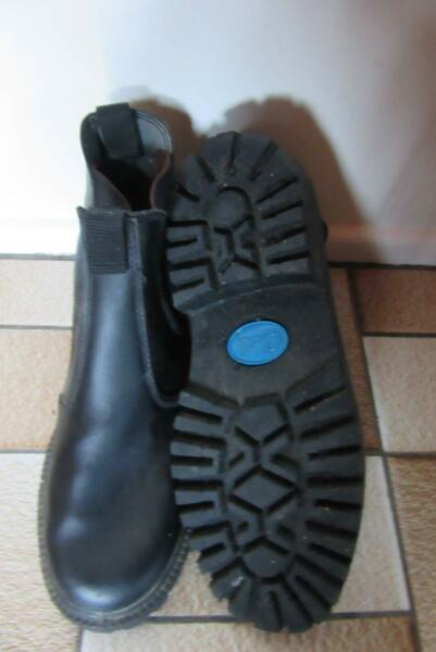 KidsShoes Grosby Mens//Older Boys Rustle Leather Boots