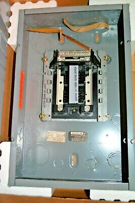 125a Load Center Circuit Breaker Panel New Alb128-16 American Switch Main