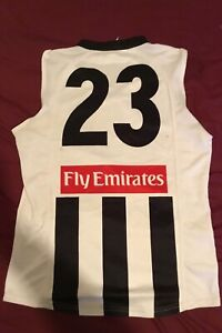 Collingwood Magpies Anthony Rocca 2008 Player Issue Clash Guernsey