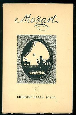 AA. VV. MOZART DELLA SCALA 1955 MUSICA CLASSICA BIOGRAFIE