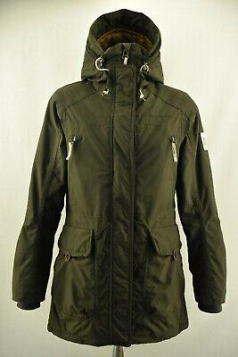 DIDRIKSONS Storm System Karen Womens Parka Jacket Waterproof Hooded Coat Size 36
