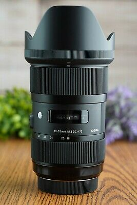 Sigma 18-35mm F1.8 DC HSM ART ZOOM Lens for SONY A-Mount