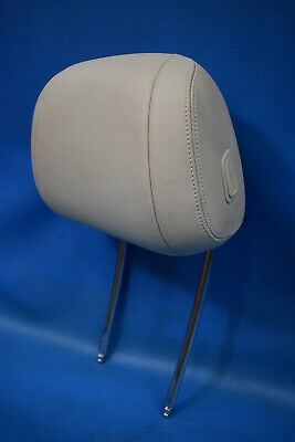 2011-2016 BMW 535xi FRONT DRIVER SIDE LH HEAD REST OYSTER LEATHER OEM