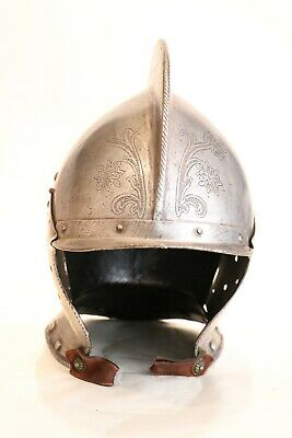 An Etched Burgonet Helmet, late 16th century Germany