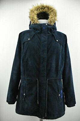 KARI TRAA Women Parka Jacket Hooded Outdoor Winter Padded Bodywamer Coat Size XL