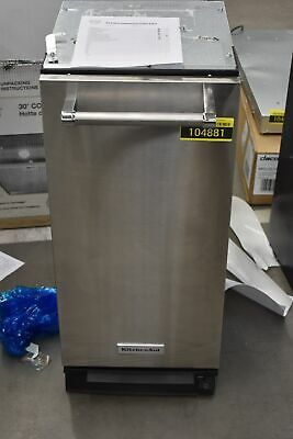 """KitchenAid KTTS505ESS 15"""" Stainless Built-In Trash Compactor"""