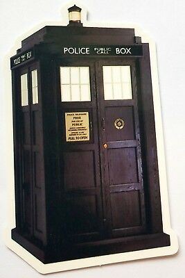 Doctor WHO - TARDIS Vinyl Sticker  for sale  Shipping to India