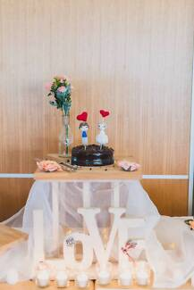 Lace fabric (wedding decoriation)