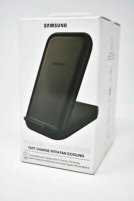 Samsung 15W Wireless Fast Charger Stand 2019 w/ Cooling For Galaxy Note10 S10