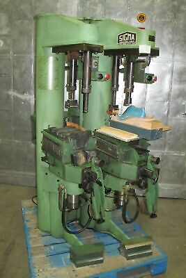 Sigma 756 Shoe Repair Press Pressing Machine Leather Made In Italy