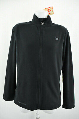 KARI TRAA Womens Fleece Jacket Outdoor Zip Neck Lightweight Top Size L NEW BNWT