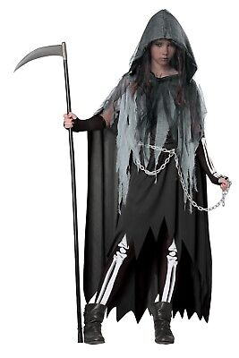 Miss Reaper Child Girls Tween Costume