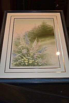 Arnold Alaniz  Meadow Bouquet  Artist Proof Signed lithograph print