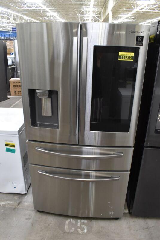"Samsung RF28R7551SR 36"" Stainless Steel French Door Refrigerator #114319"