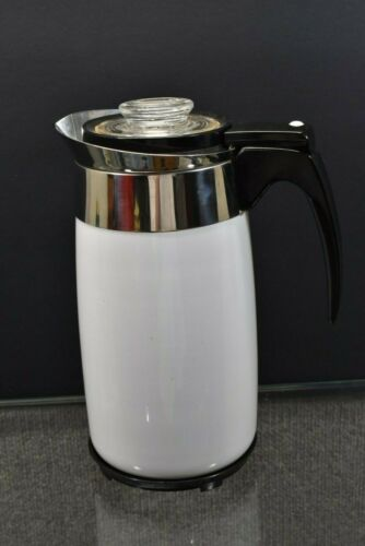 VTG Corning Ware 10 Cup Electric Percolator Coffee Pot Works