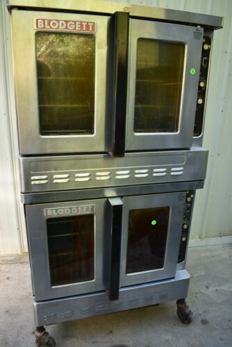 BLODGETT DFG-100 DOUBLE STACK NATURAL GAS CONVECTION OVEN