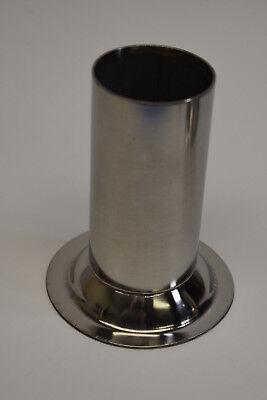 Steel 22 X 2 Stainless Meat Grinder Funnel Tube Lem Cabelas Hobart Biro Etc