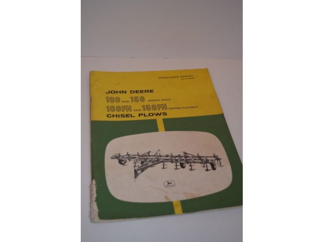Vintage John Deere 100-150 & 100FH-150FH Serie