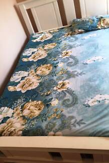 Excellent European style Bed and mattress for sale