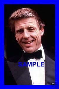 ORIGINAL-1987-PRESS-SLIDE-EDWARD-FOX-IN-PLAY-AT-LYRIC-LET-US-GO-THEN-YOU-I
