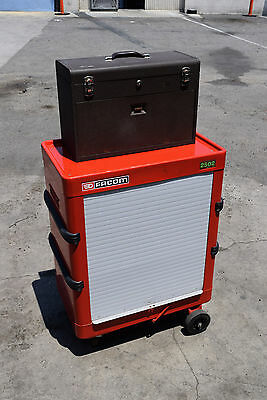 Facom 2502 Kennedy Rolling Trolley Metal Machinists Tool Chest Box Workstation