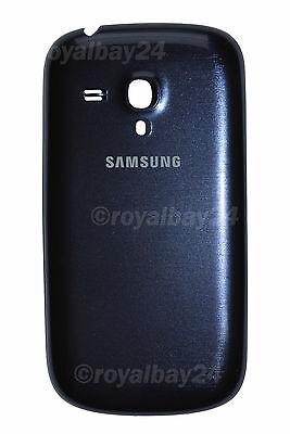 Samsung Galaxy S3 Mini i8190 Parte Trasera Cubierta de Batería Azul segunda mano  Embacar hacia Argentina