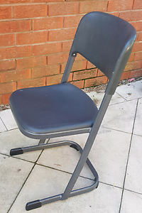 Stackable steel framed chairs Burwood Burwood Area Preview