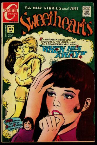 1971 Charlton Sweethearts #121 VG+