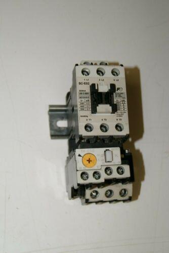 Fuji Electric FA SC-E02 Contactor with TK-E02 Relay