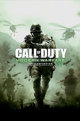Rgc Huge Poster   Call Of Duty Modern Warfare Remastered Ps4 Xbox One   Ext372