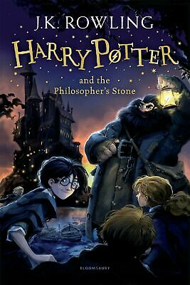 Harry Potter and the Philosopher's Stone 1/7  by J.K. Rowling New Paperback Book