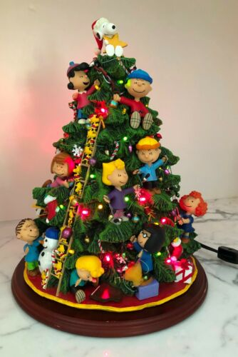 "Danbury Mint ""The Peanuts Christmas Tree"""